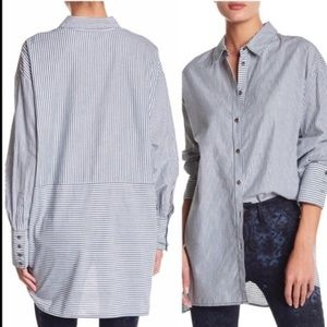 Free People lake house oversized top